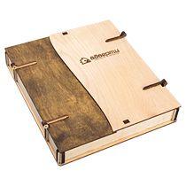 Подарочная коробка под ежедневник со створками