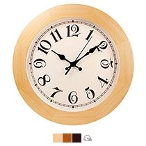 Часы круглые деревянные 300 мм
