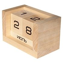 Вечный настольный календарь «Веселый куб»