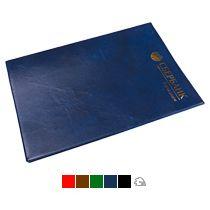 Папка с карманом из мягкой эко-кожи, формат А4