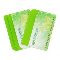 Футляр для кредитных карт с 3 карманами с полноцветной печатью