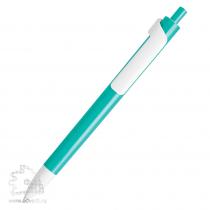 Шариковая ручка «Forte» с белым клипом Lecce Pen