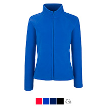 Куртка «Lady-fit Full Zip Fleece», женская, Fruit of the Loom, США