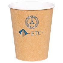 Бумажный крафт стакан для холодных и горячих напитков