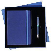Подарочный набор «Blue ocean» Portobello, сине-голубой