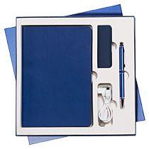 Подарочный набор «Latte 2» Portobello, синий/голубой