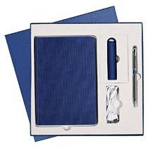 Подарочный набор «Rain» Portobello, синий 4