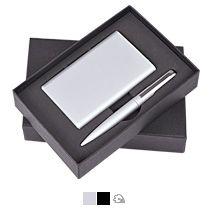 Набор «Mirror» универсальное зарядное устройство (6000мАh) и ручка