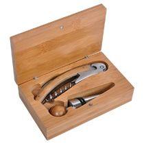 Набор для вина: нож сомелье со штопором, пробка