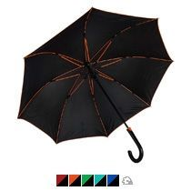 Зонт-трость «Back to black», полуавтомат