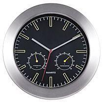 Настенные часы «Техно» с термометром и гигрометром