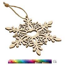 Елочная игрушка «Снежинка любимая»