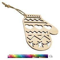 Елочная игрушка «Варежка»