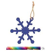 Елочная игрушка «Снежинка»