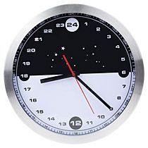 Часы настенные «Night&Day» с 24-часовым циферблатом