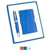 Набор: визитница, ручка «Эстет»