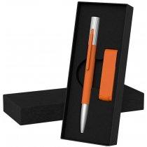 Набор ручка «Clas» + флеш-карта «Case» 8 Гб в футляре