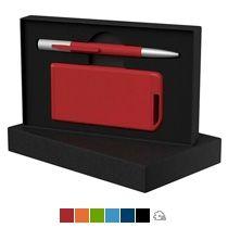 Набор ручка «Clas» + зарядное устройство 4000 mAh в футляре