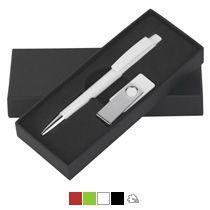 Набор ручка Zeno + флеш-карта TWISTA MS  в футляре