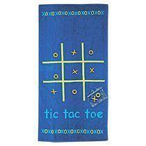 Пляжное полотенце «Baums» с игрой в «крестики-нолики»