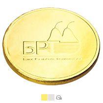 Шоколадные медали  с логотипом 25 г