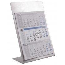 Металлический настольный календарь «Мемори» на 2019 год