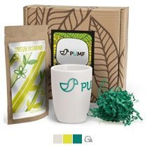 #ужеподарок «Чай, картон и белый силикон»