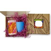 #ужеподарок «Чай, картон и голубой силикон»