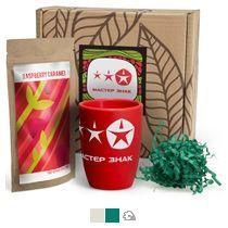 #ужеподарок «Чай, картон и красный силикон»