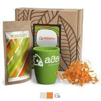 #ужеподарок «Чай, картон и зелёный силикон»