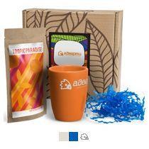 #ужеподарок «Чай, картон и оранжевый силикон»