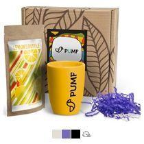 #ужеподарок «Чай, картон и жёлтый силикон»