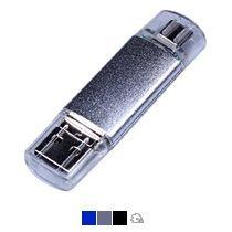 Флешка c дополнительным разъемом Micro USB 3-in-1 TypeC
