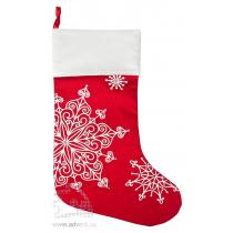 Носок для подарков «Снежинки»