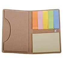 Футляр для визитки «Eco holder» с клейкими листочками