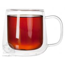 Чашка с двойными стенками «Glass First»