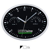 Часы «Insert 3», с термометром и гигрометром