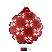 Новогодний самонадувающийся шарик «Скандик»
