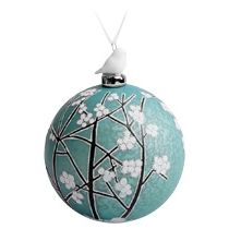 Елочный шар с фигуркой «Новогодний лес»