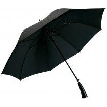 Зонт-трость «Ricardo» (Matteo Tantini)  с фактурной тканью, полуавтомат