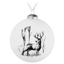 Елочный шар «Forest», с изображением оленя