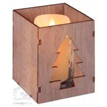 Подсвечник «Wood», с изображением елочки