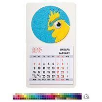Магнит-календарь «Гордый петух»