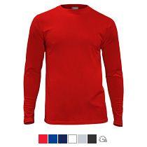 Футболка «Red Fort Man», мужская с длинным рукавом