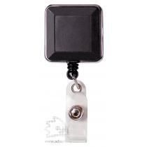 Ретрактор-брелок премиум, квадратный