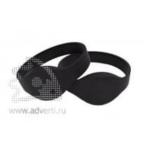 Силиконовый контрольный RFID браслет