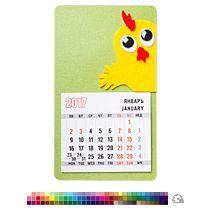 Магнит-календарь «Удивленный цыпленок»