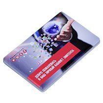 Универсальное зарядное устройство «Credit Card1 Color» 2500 mAh