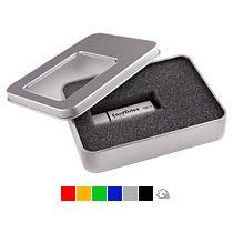 Коробка с прозрачным окошком для флешки