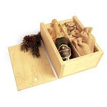 Коробка деревянная для подарков